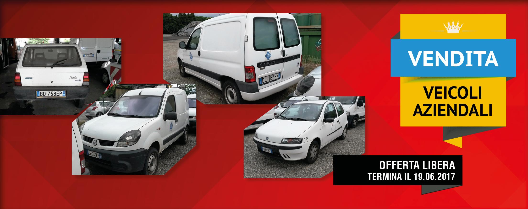 Immagine vendita veicoli aziendali